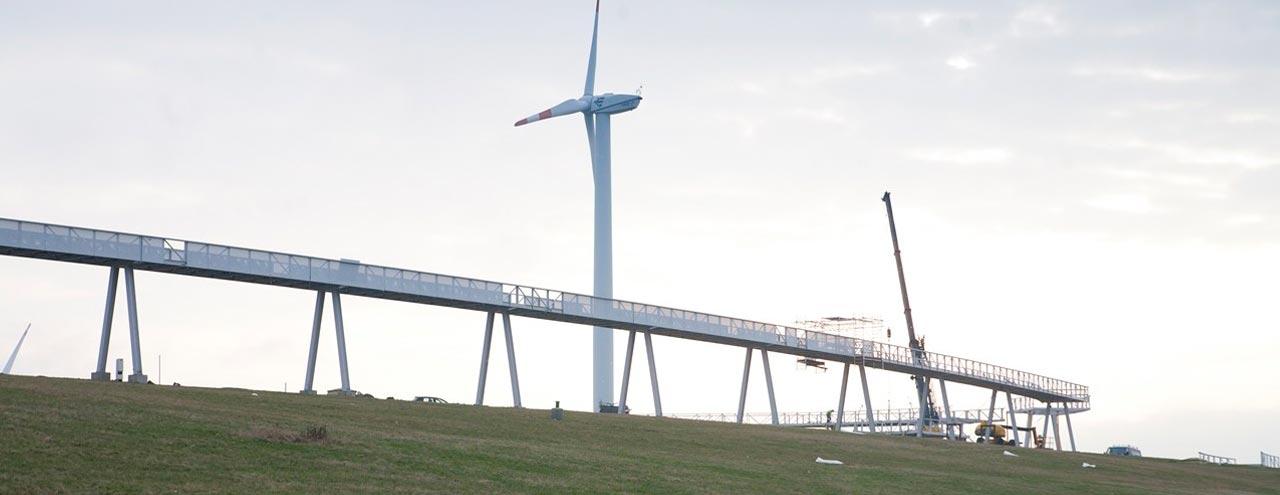 Horizontweg auf dem Energieberg
