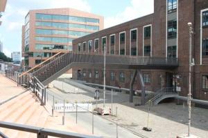 Hochwasser-Fluchtbrücken