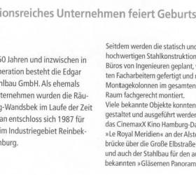08. November 2005 Stahlbau Nachrichten