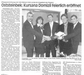 18. November 2008Glinder Zeitung Sachsenwald