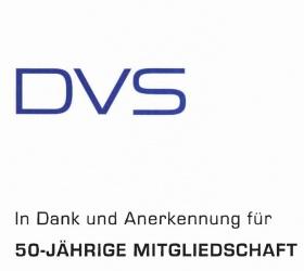 Juli 2009 50 Jahre DVS Mitgliedschaft