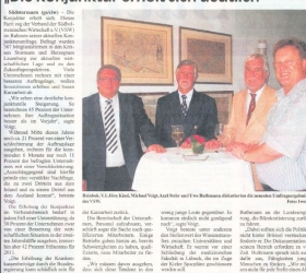 13. Juli 2010Glinder Zeitung Sachsenwald