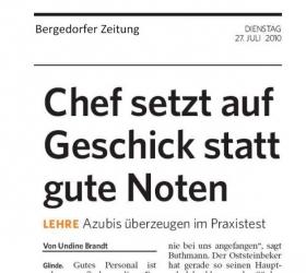 27. Oktober 2010Bergedorfer Zeitung