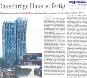 5. April 2013Hamburger Abendblatt Tanzende Türme