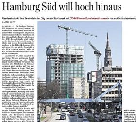 14. April 2015  Hamburger Abendblatt Hamburgs Süden will hoch hinaus