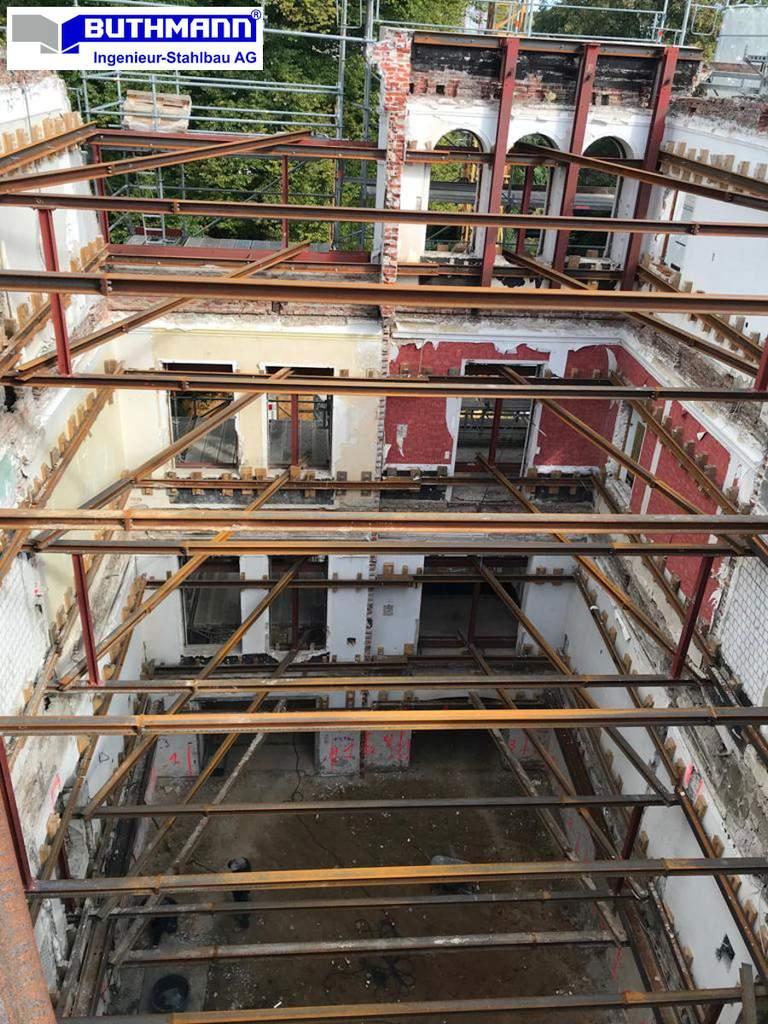 18-09-26 - Innere Fassadensicherung einer denkmalgeschützten Stadtvilla in Hamburg - Bild 1