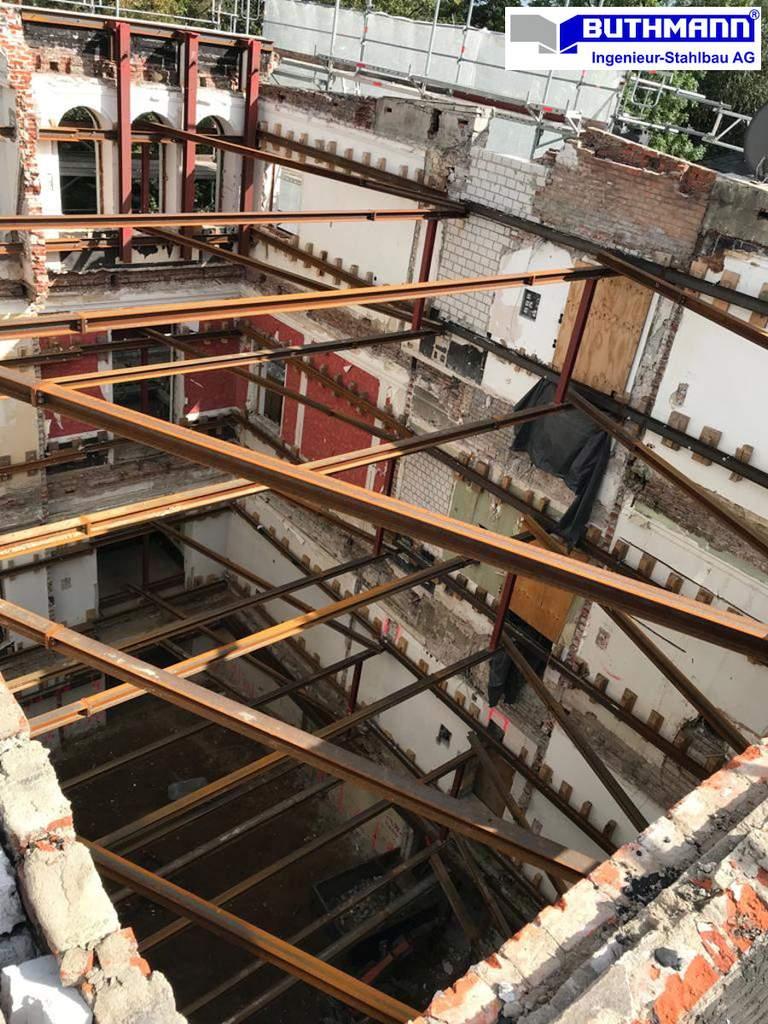 18-09-26 - Innere Fassadensicherung einer denkmalgeschützten Stadtvilla in Hamburg - Bild 2