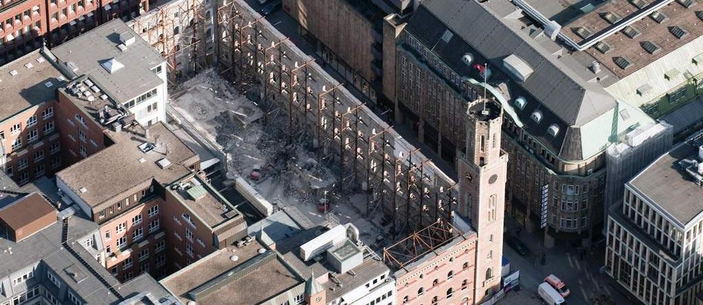 Alte Post, Hamburg - Buthmann Ingenieur-Stahlbau AG aus Glinde bei Hamburg