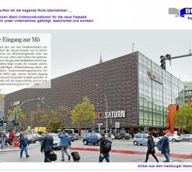 13. September 2018 Hamburger AbendblattDer neue Eingang zur Mö
