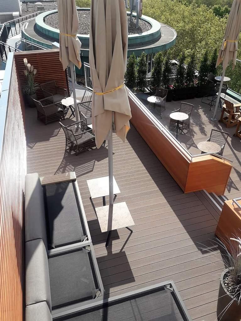 17 Grand Elysee - fertige Dachterrasse