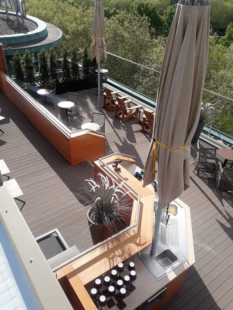 18 Grand Elysee - fertige Dachterrasse