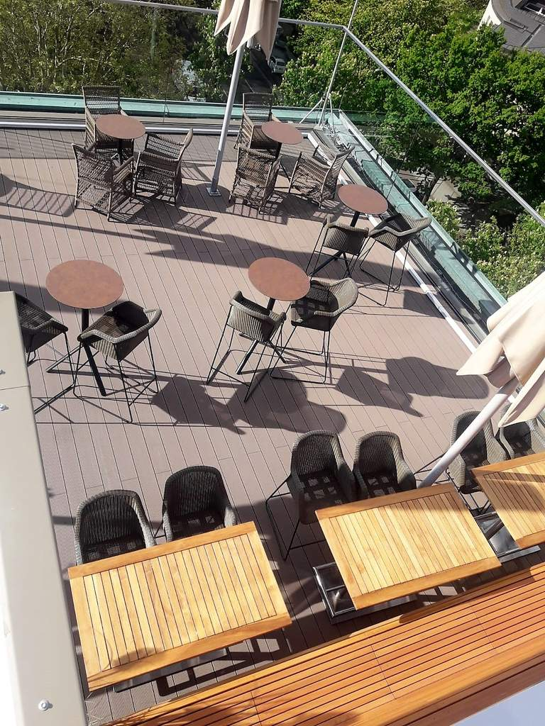 19 Grand Elysee - fertige Dachterrasse