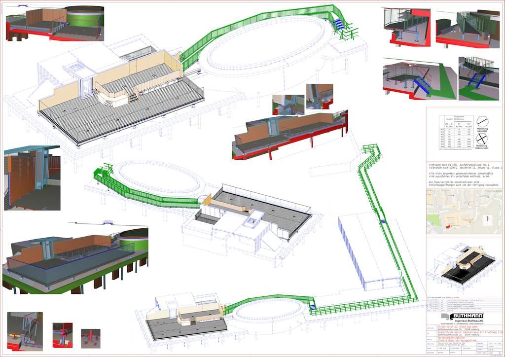 6 Grand Elysee - Werkplanung