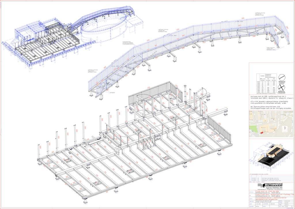 7 Grand Elysee - Werkplanung