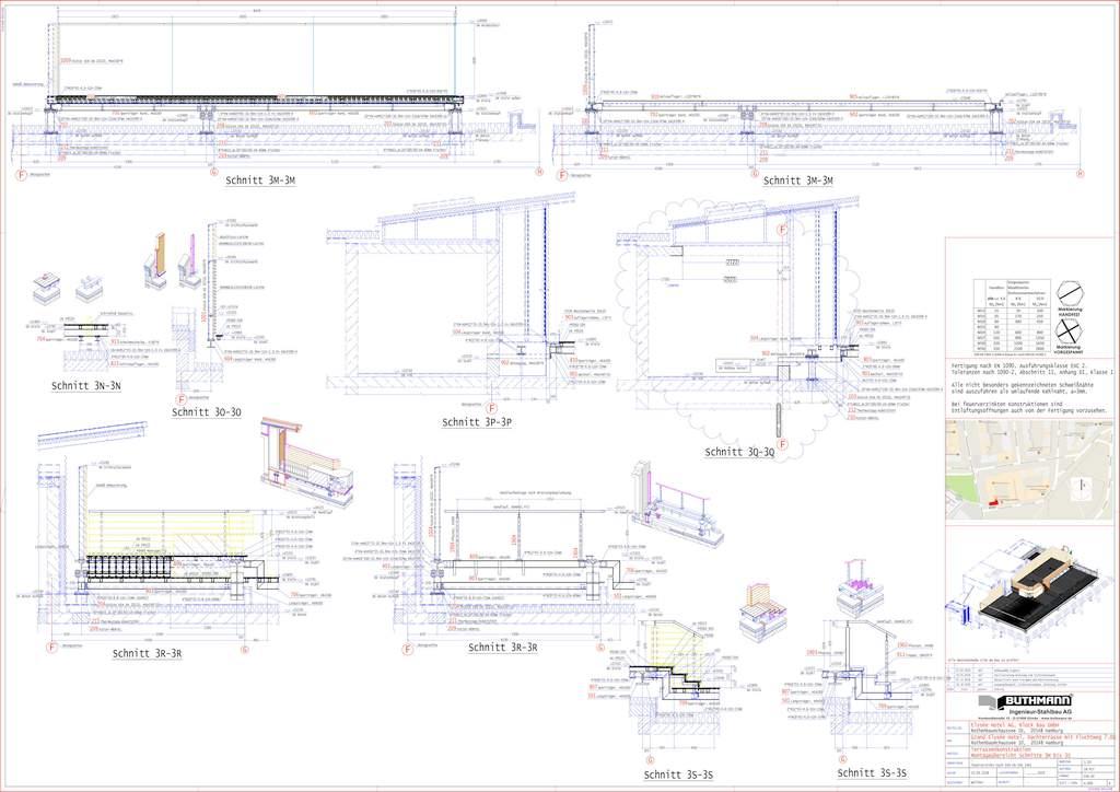 8 Grand Elysee - Werkplanung