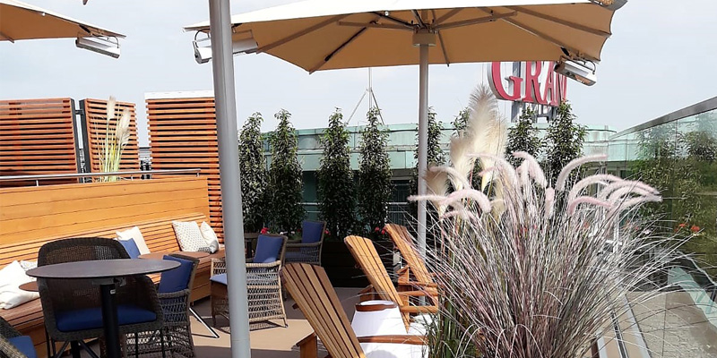 Header Grand Elysee - fertige Dachterrasse