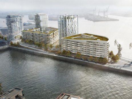 Strandkai - HafenCity, Hamburg
