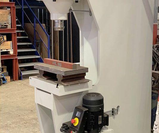 hydraulische Einständer-Richtpresse mit 100 to Druckkraft